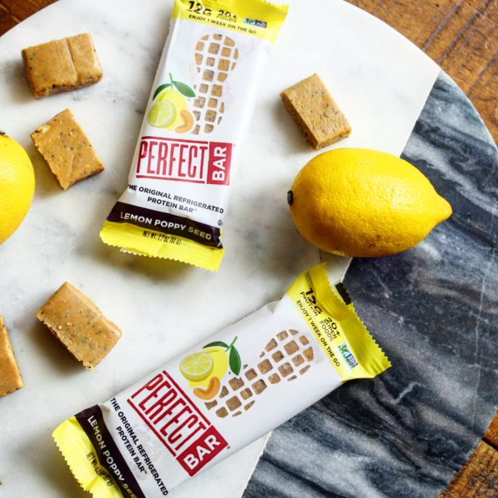 Perfect Bar: Lemon Poppy Seed